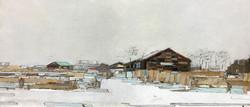 이부강1, moved landscape(소금창고18), 30 x 70 c