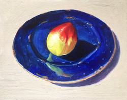 011, 천도 복숭아, 30 x 24 cm, oil on canvas,