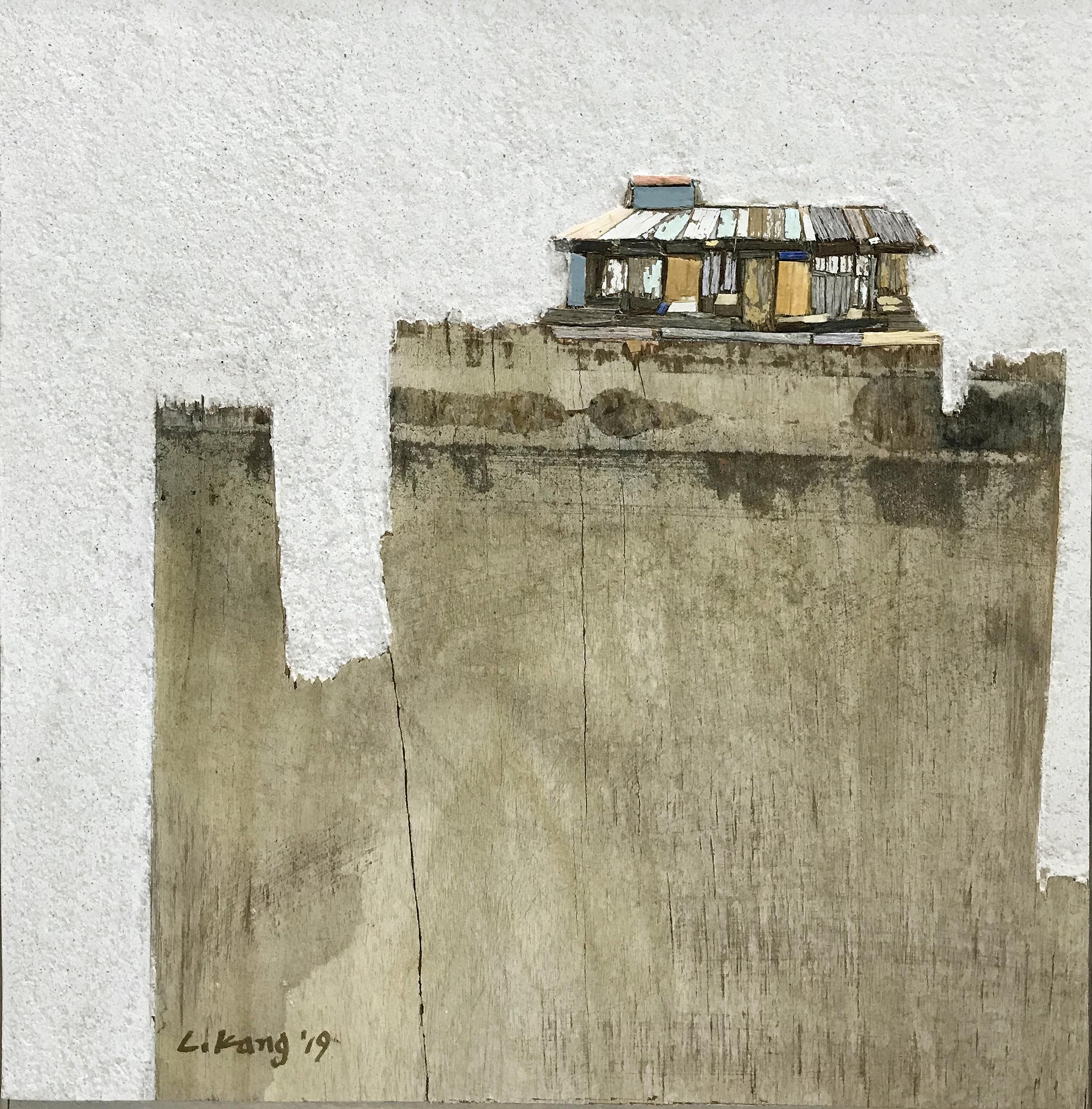 003, 이부강, trace skyline 13, 25 x 25 cm,