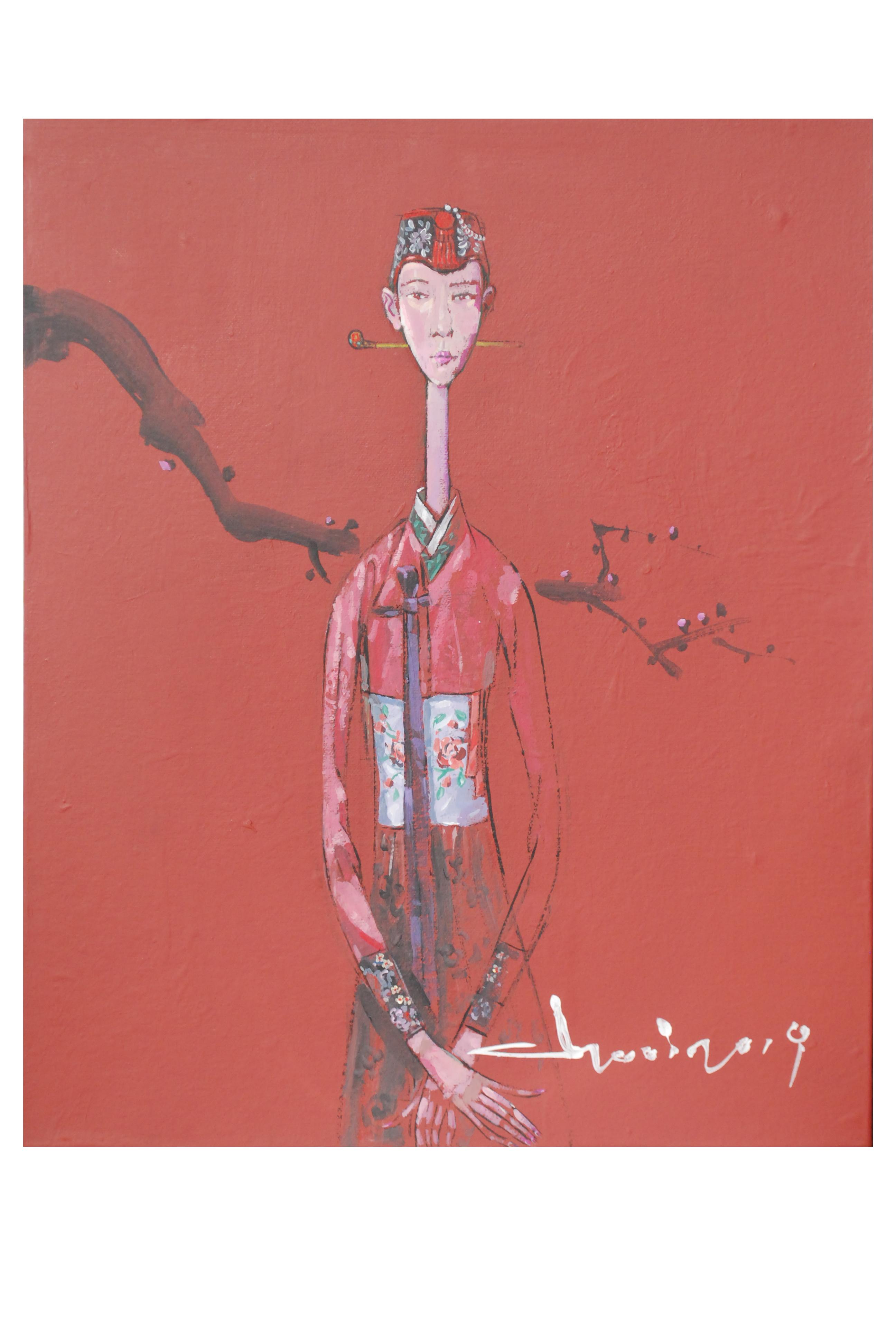 최경자3, Alpaha Girl 1945, 36.0 x 43