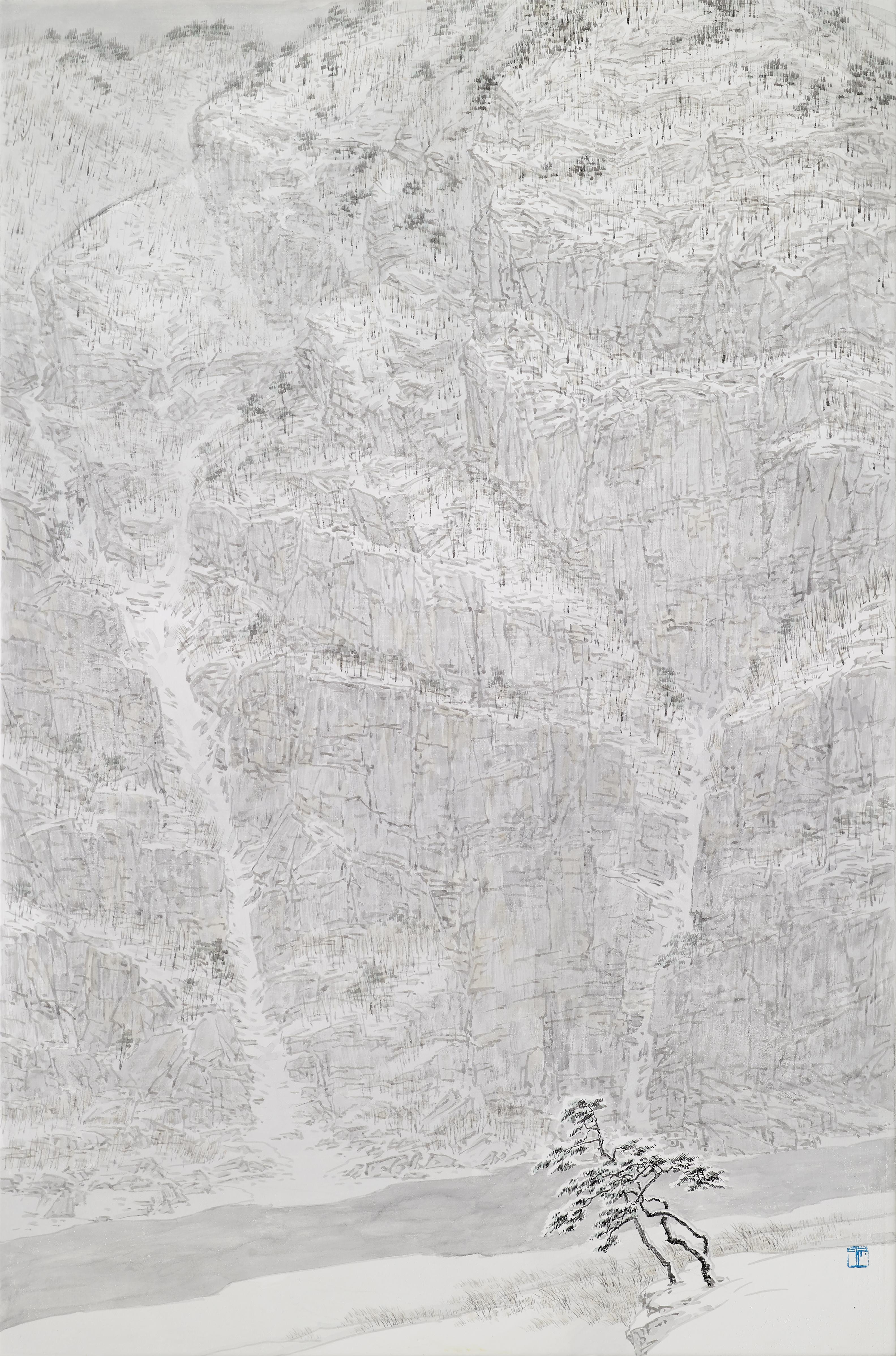 015, 임태규, 흐린풍경-맹동, 65.1 x 90