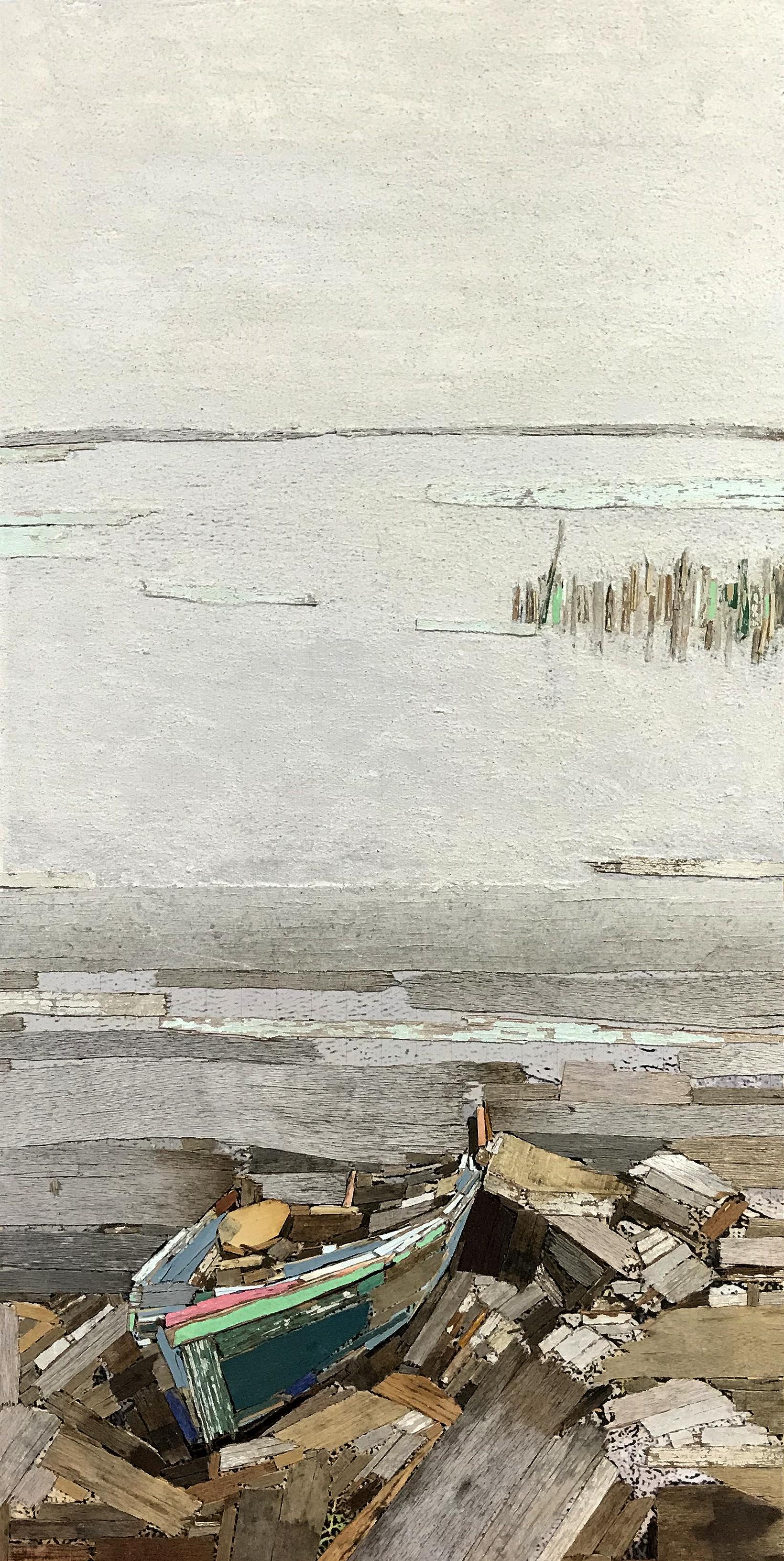 이부강1, trace 233-2, 30 x 60 cm, mixed med