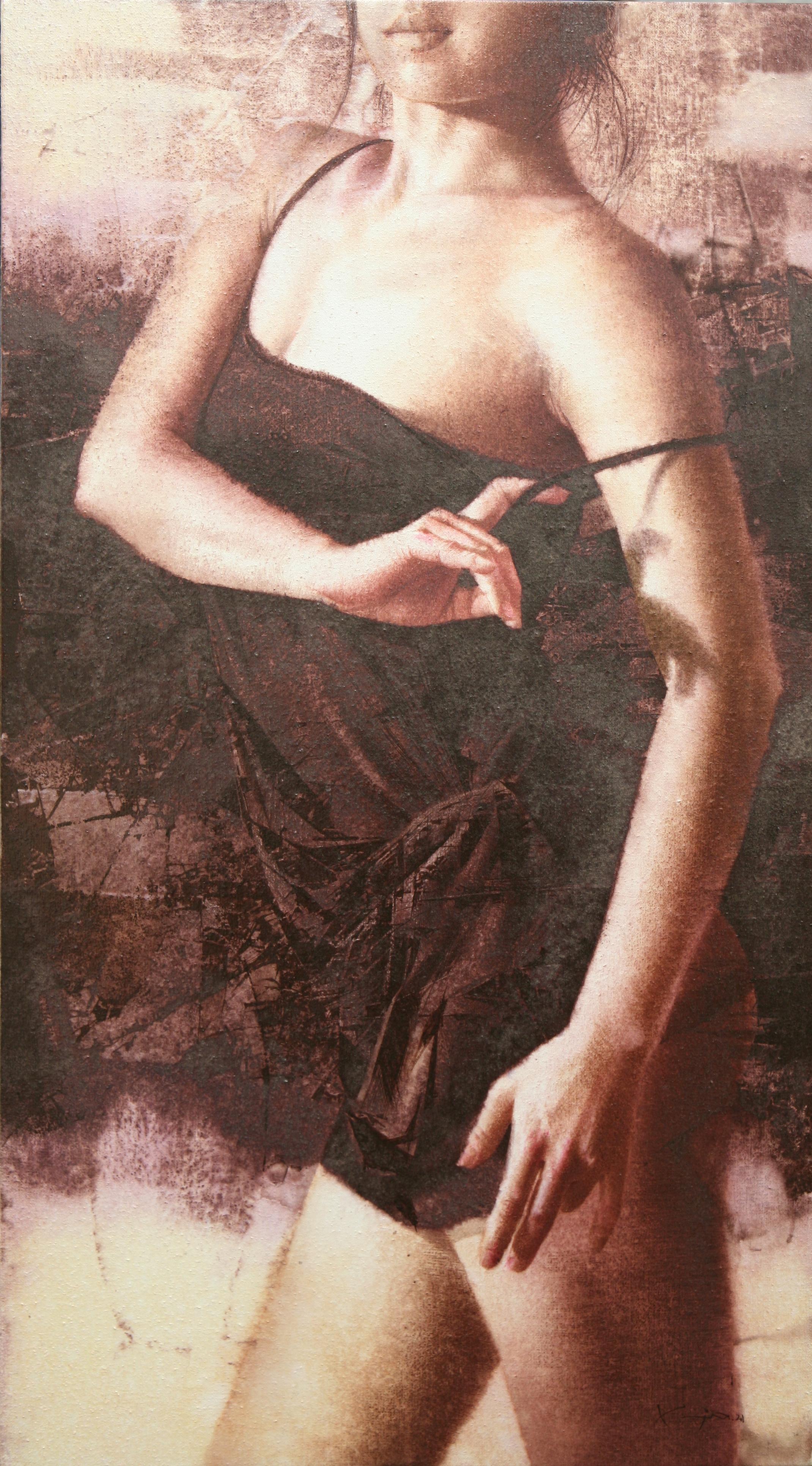 020, 김종원, movement, 90 x 50 cm, watercol
