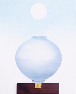 2016,비움채움(복을담다),73x60.5,혼합재료