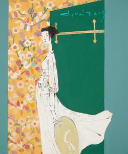 7. 최경자, Alpha Girl 1925, 38.0 x 45