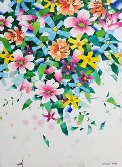 (강경화 1) _ Oasis-Summer_53x72.9cm_oil on canvas_2013