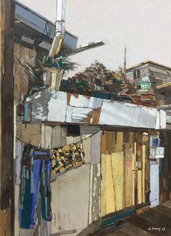 006, 이부강, moved landscape (지동), 53 x 73