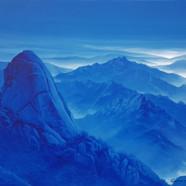 007, 북한산, 61 x 73 cm,  acrylic on canvas
