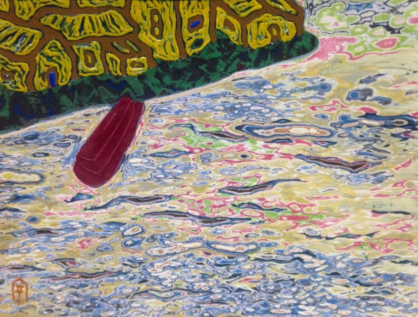 동피랑이야기, 33.5x,24.5cm, , 혼합재료, 2016