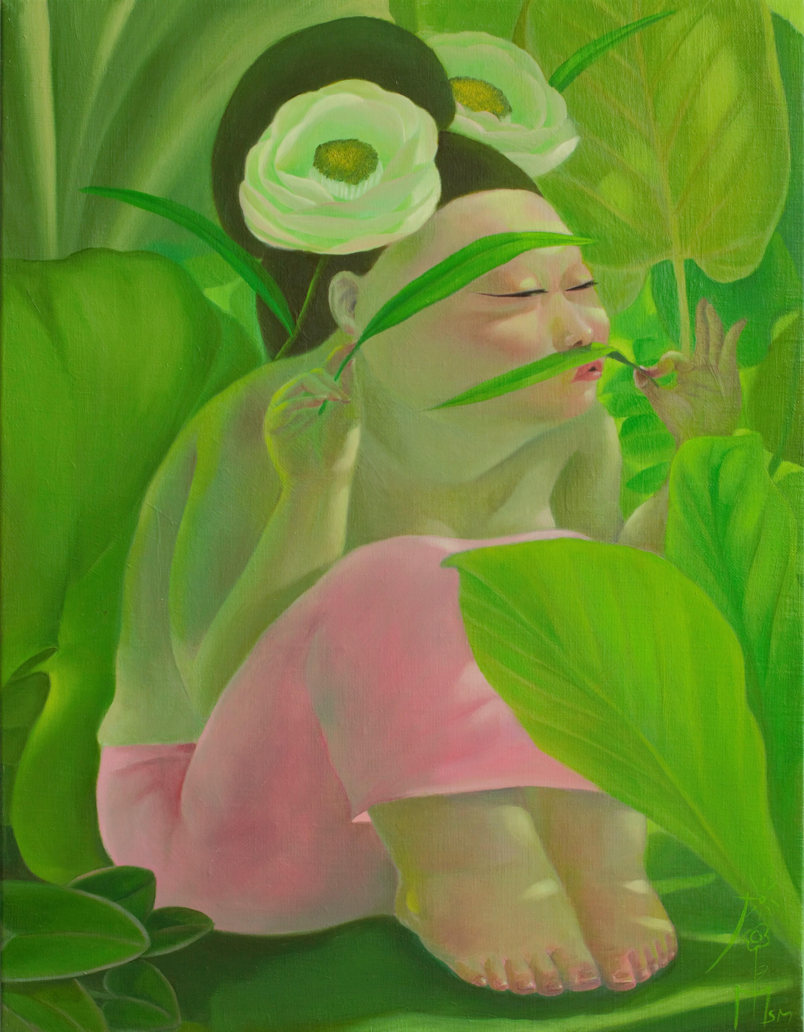 그녀의 정원 41x53oii on canvas2019