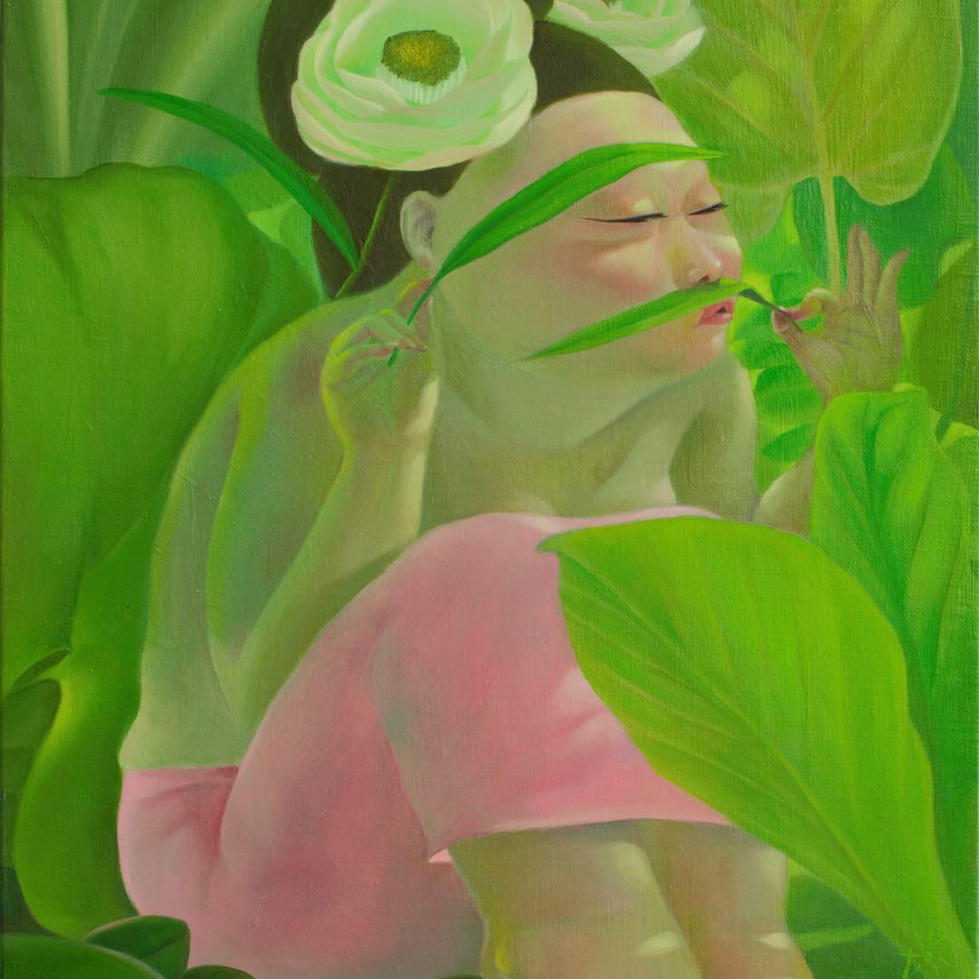 그녀의 정원 41x53oii on canvas2019.jpg