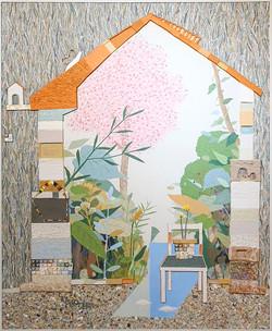010, 김형길, 제일이라20, 163 x 132 cm, 캔버스 위에 혼