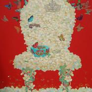 012 그녀의 웨딩 72.7x60.6cm Acrylic on canvas