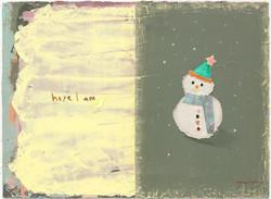 018, 김현영, Here I am, 33.4 x 45