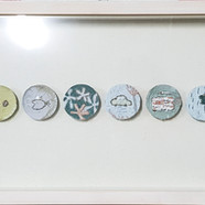 011, 김형길, 머문곳에04, 5 x 60 cm, 혼합재료 2004,