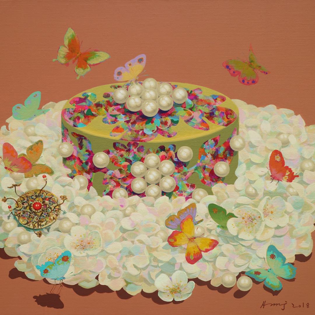 013 그녀의 명예 53x45.5cm Acrylic on canvas 2