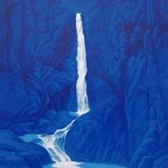 013, 구룡폭포, 72 x 91 cm, acrylic on canvas