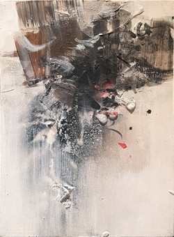 010, 연상록, 기억의 소환(겨울에서 봄으로), 24 x 35 cm (