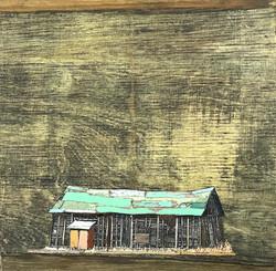 이부강4-1, moved landscape(소금창고), 30 x 30 c