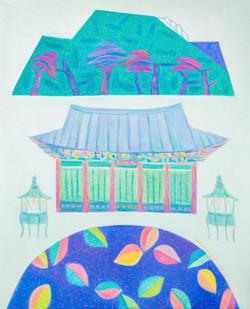 차명주, 동해삼화사, 65.1 x 53