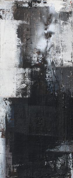 014, 기억의 소환-秋, 60 x 25 cm, 캔버스에 유화물감, 20