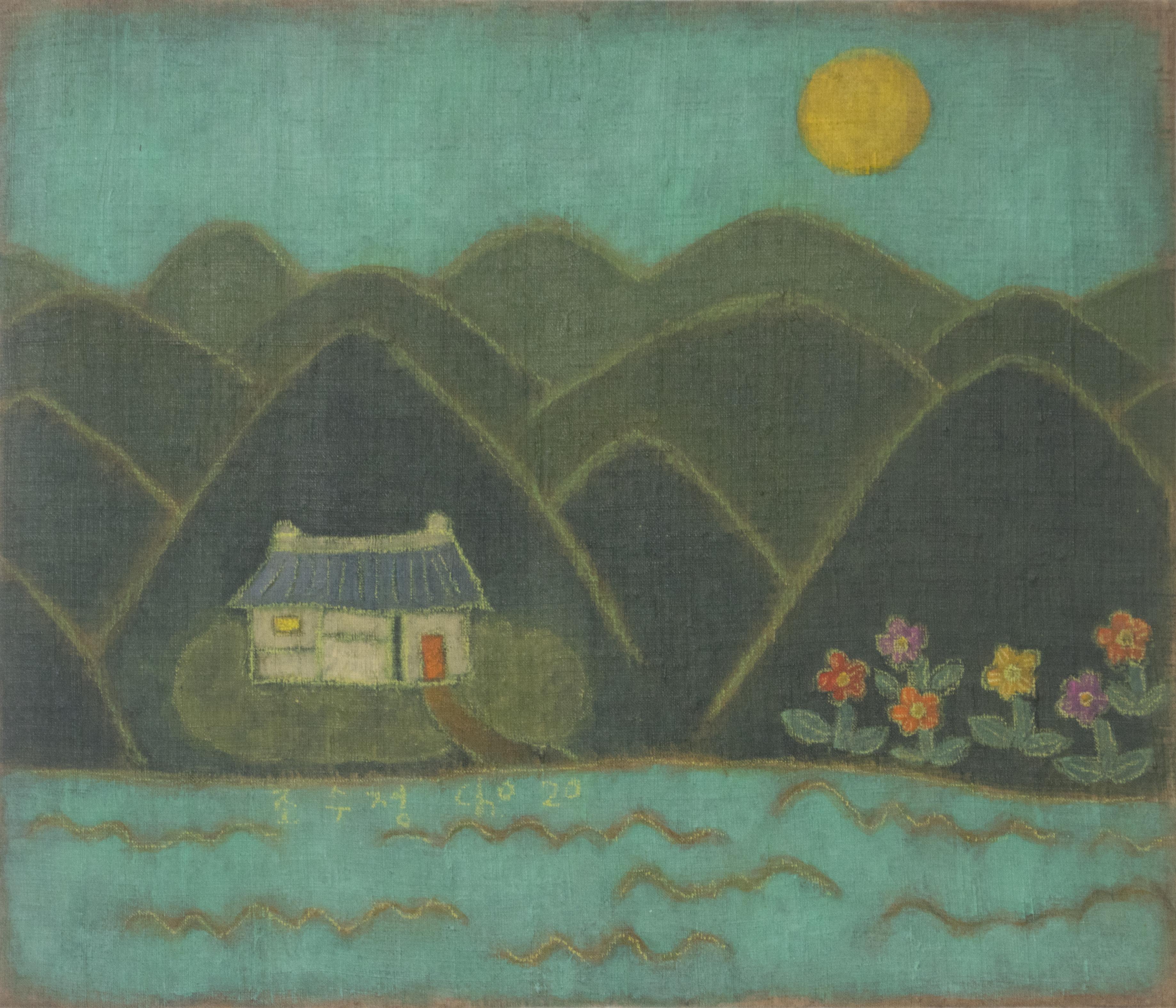 조수정1, 초록세상, 45.3 x 53