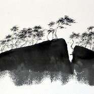 011, 형제섬2, 53.3x35cm, 화선지에 수묵, 2016.JPG