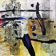 011, one's home town 18102, 80 x 100 cm,