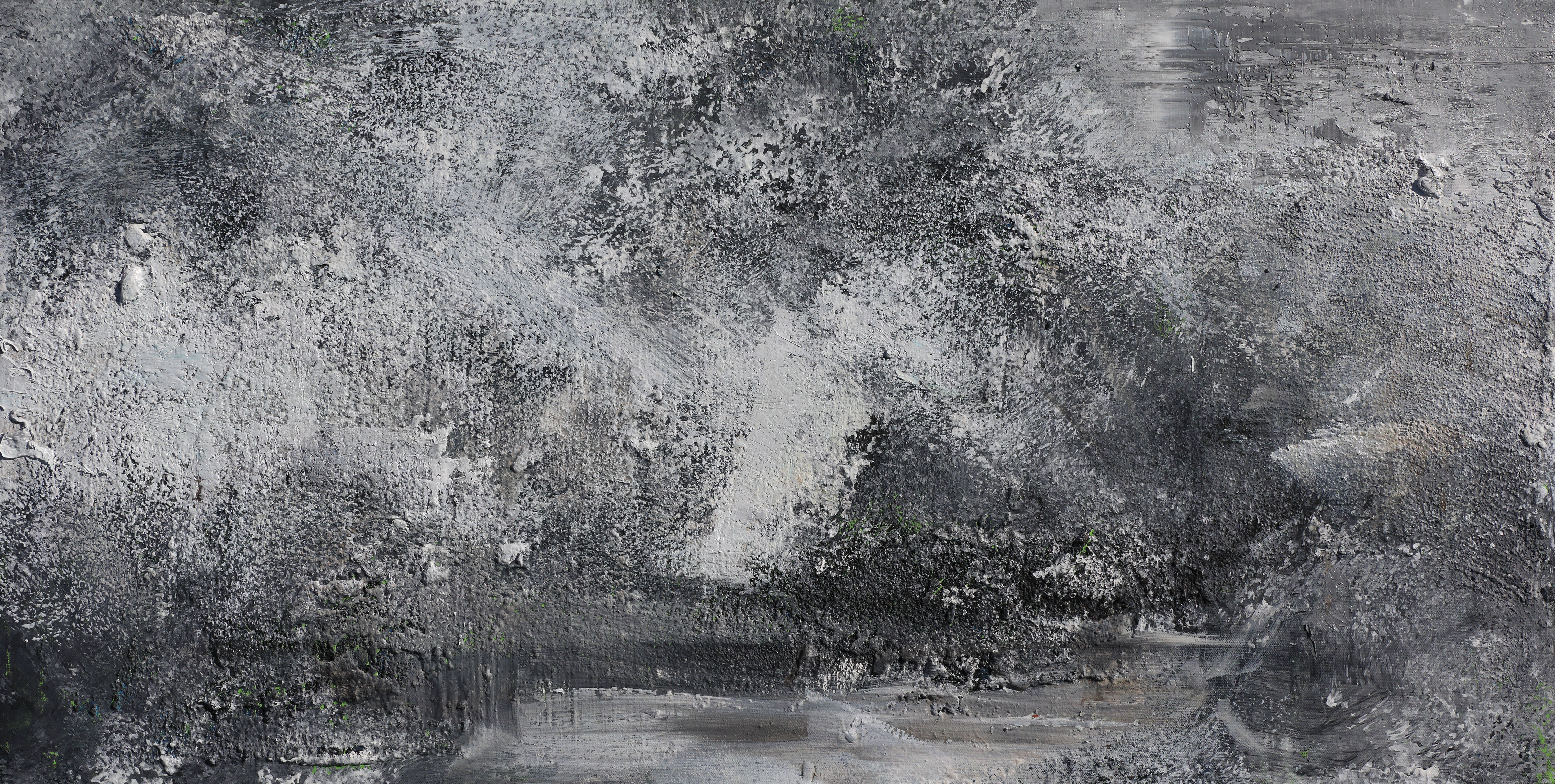 001, 연상록, 자연의 마음을 담다 -冬 송학사 가는 길-, 100 x