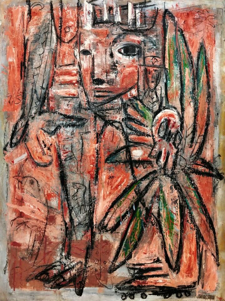 최우, Judith, 72.7 x 90