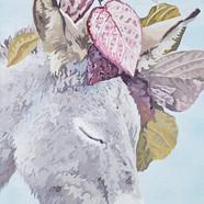 022, 박계숙, 나르시스의 정원-12, 23 x 34 cm, 캔버스에
