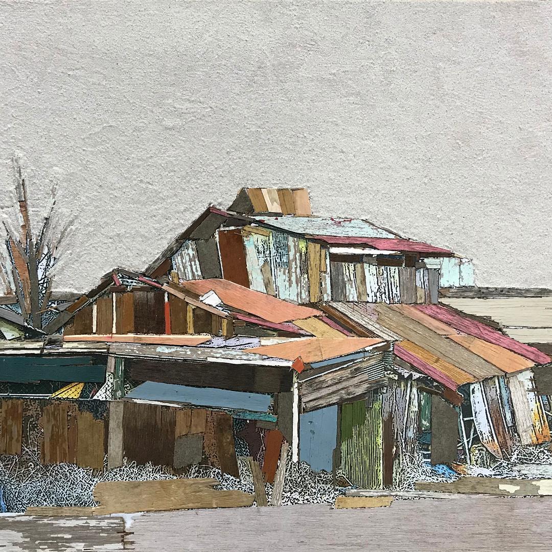 017, 이부강, moved landscape (정미소), 52 x 40