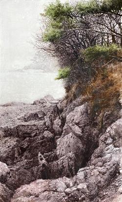 019, 김종원, 겨울 바다, 91 x 55 cm, watercolor