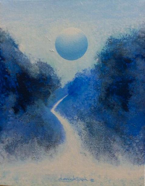 신동권001,일출-신망애, 40.9x31.8cm ,Acrylic on canvas, 2017 (2)_1