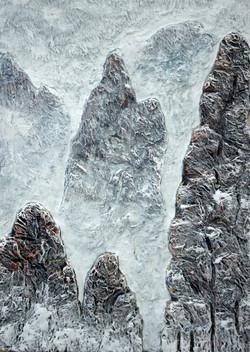 조광기 백화 80x75 종이부조후 아크릴2013