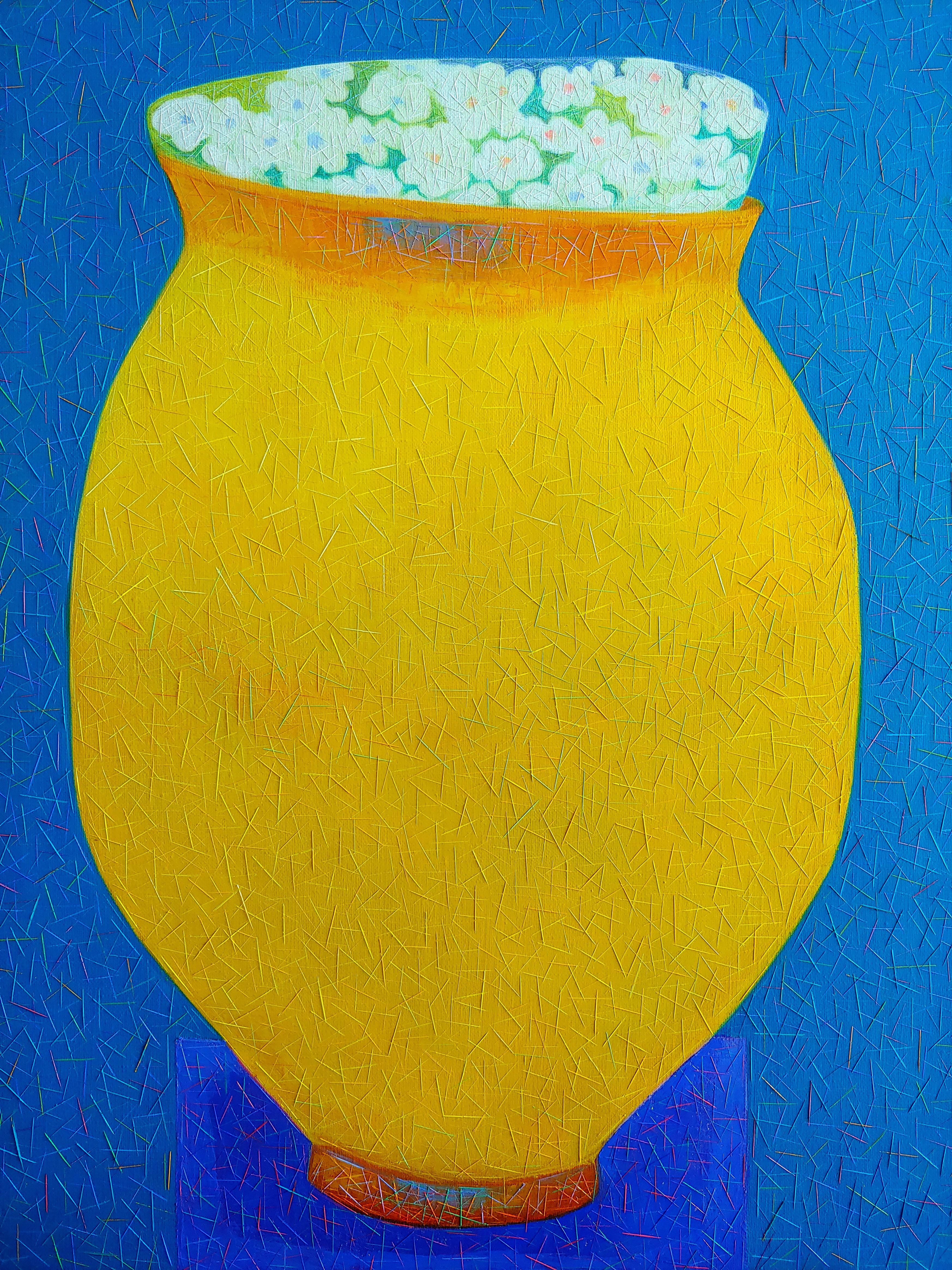006, 차명주, 꽃밥 (청동기시대 계란형토기), 53.0 x 65
