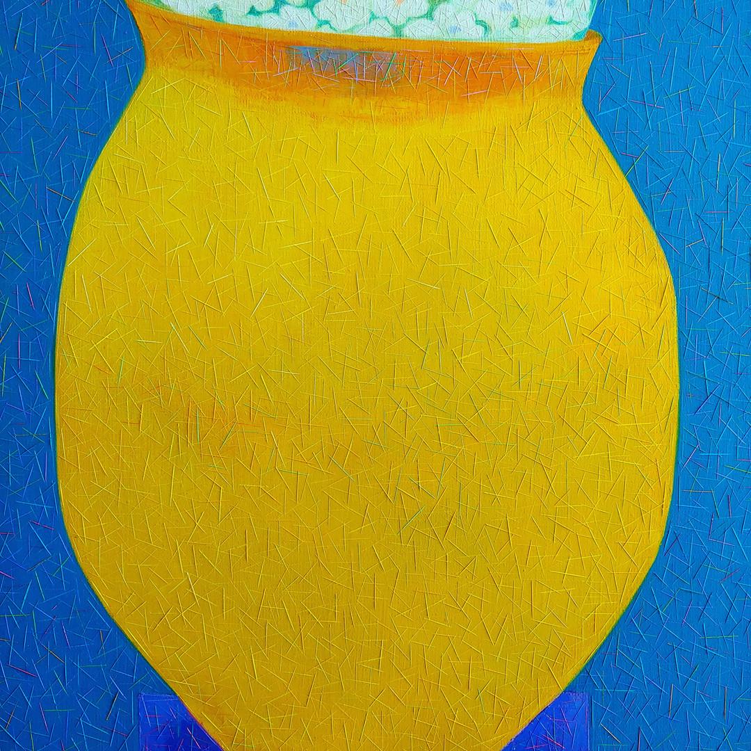 006, 차명주, 꽃밥 (청동기시대 계란형토기), 53.0 x 65.1