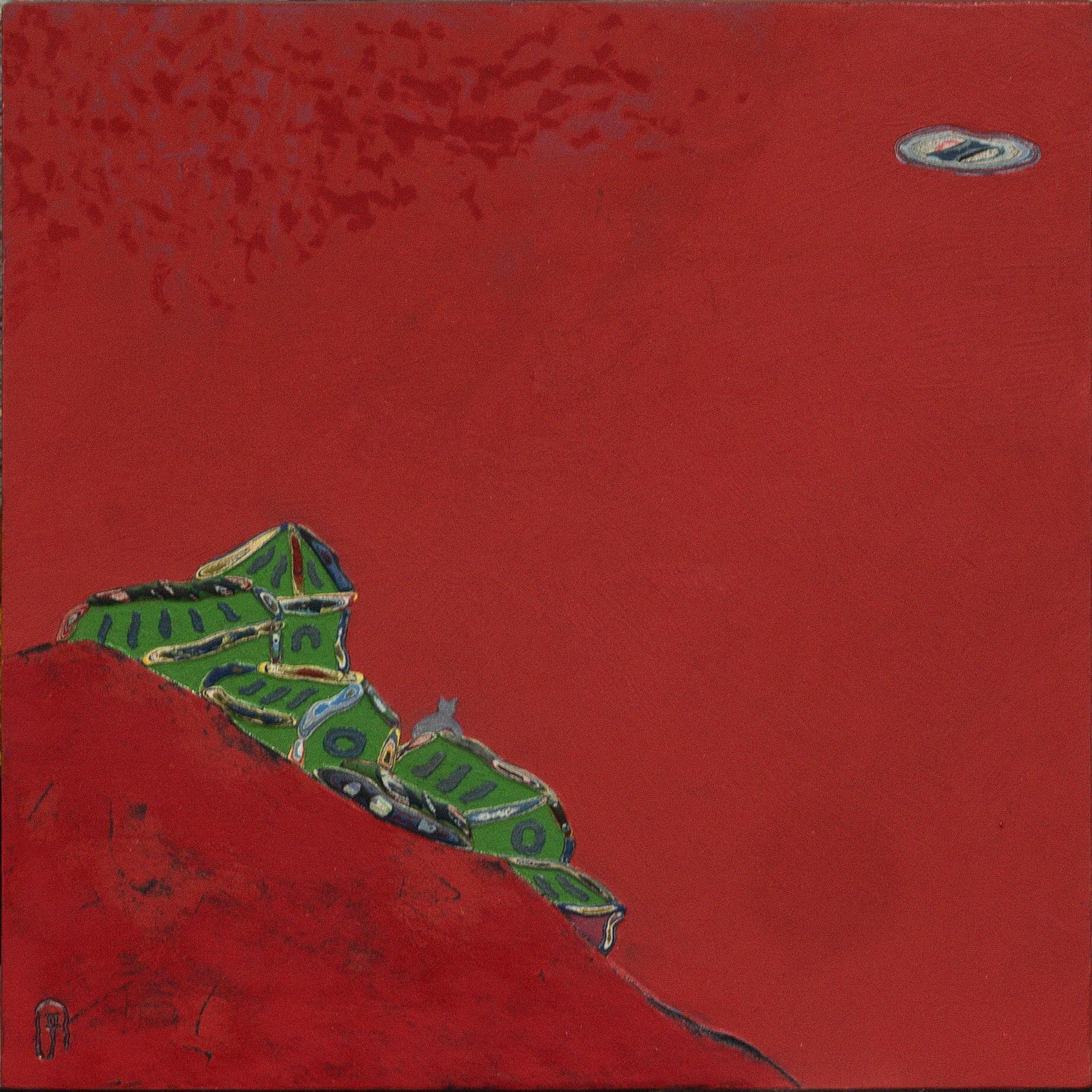 동피랑이야기,49x49cm, Mixed material, 2017