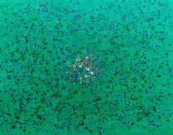 이경성, Thorn tree_A crack, the light, 117 x 91cm, 소멸기법, 2017