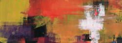 016, 연상록, 기억의 소환, 115 x 41 cm, 캔버스에 유화물감