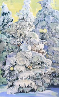 002, 박계숙, 나르시스의 정원-잠복근무3, 116 x 72 cm, 아