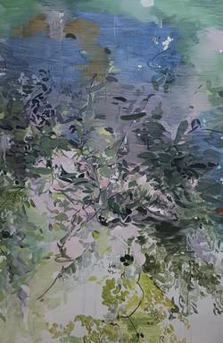 010, 박계숙, 나르시스의 정원-숲2, 116 x 80 cm, 아크릴에