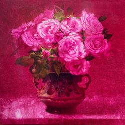 024, 김종원, rose, 50 x 50 cm, watercolor o