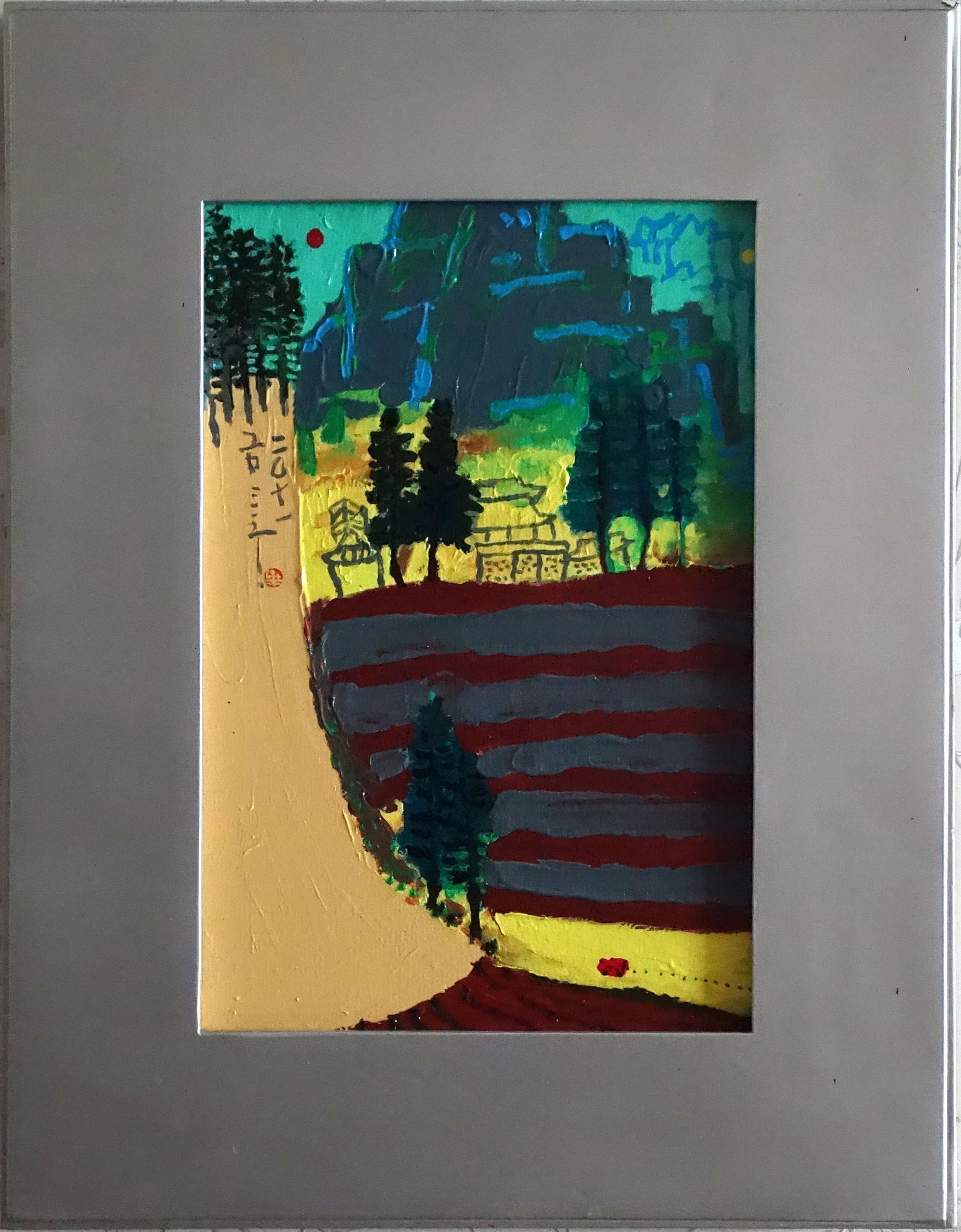 금사홍1, 진경산수 Real Landscape-56, 27.3 × 45.