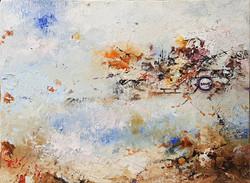 010, 권영범, 어떤여행 (un Voyage), 14.8 x 19.5 cm, Oil on canvas, 2021, 50만원