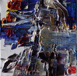 탁노001,_2016_wild_aura_horse_026,_35x35cm,_Oil_on_canvas,_2016_