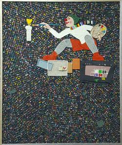 016, 김형길, 제일이라 210615, 72.7 x 60.6 cm, 캔버스에 혼합재료, 2021, 600만원