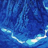 012, 상팔담, 91 x 72 cm, acrylic on canvas,