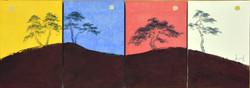 송승호2, 용눈이의 사계, 19.0 x 27