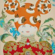 008 분첩공주-03 72.7 x 60.6 cm Acrylic on ca